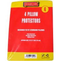 4 Pack of Pillow Protectors - Not Waterproof